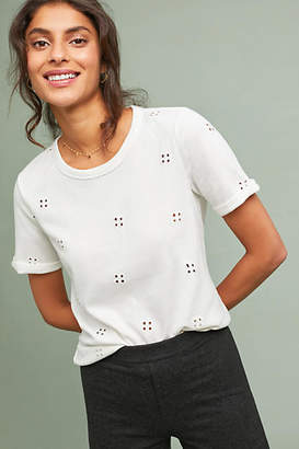 Saturday/Sunday Eyelet Terry Tee