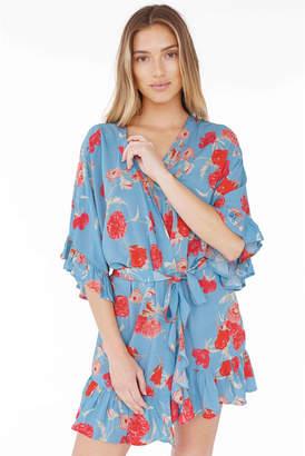 Plum Pretty Sugar Flutter Robe
