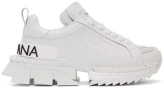 Dolce & Gabbana White Super King Sneakers
