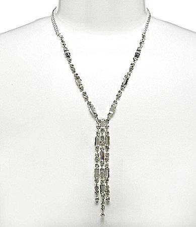 Cezanne Baguette Y-Necklace