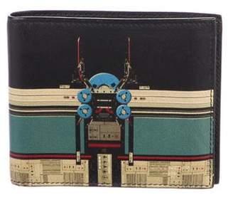 Givenchy Robot Print Bifold Wallet