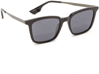 McQ - Alexander McQueen Rectangle Sunglasses $159 thestylecure.com