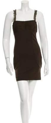 Alice + Olivia Embellished Mini Dress w/ Tags