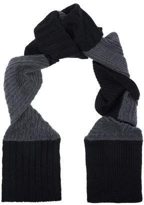 McQ Ribbed Wool Scarf