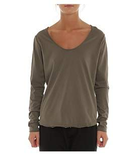 Nude Lucy Quinn Scoop Neck Long Sleeve Tee