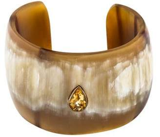 Ashley Pittman Citrine Horn Cuff