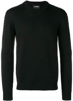 Les Hommes drawstring sweater