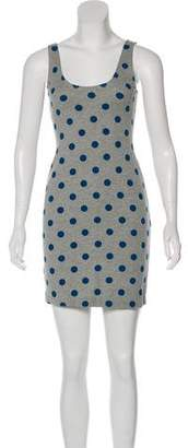 Rebecca Taylor Polka Dot Mini Dress