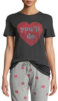 Zoe Karssen You'll Do Crewneck Slogan Tee