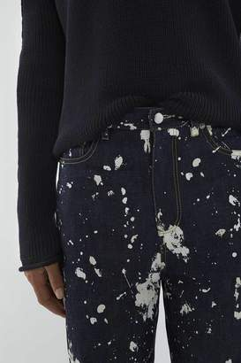 3.1 Phillip Lim Paint-Splattered Banana Leg Trouser