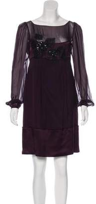 Philosophy di Alberta Ferretti Mini Evening Dress