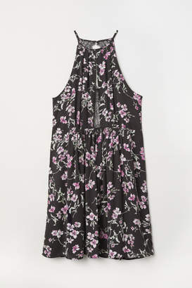 H&M H&M+ Sleeveless Dress - Black