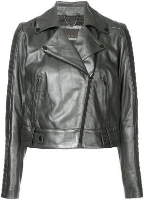 Ginger & Smart cropped biker jacket
