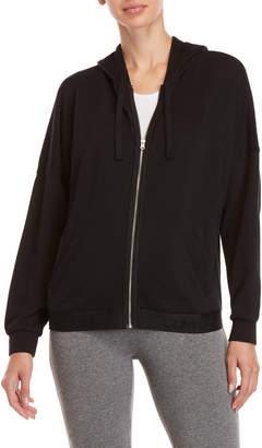 Calvin Klein Solid Zip Fleece Hoodie