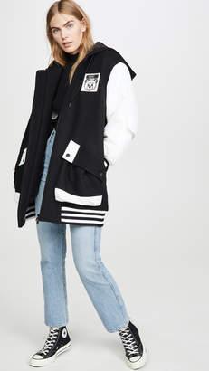 Moschino Long Varsity Jacket