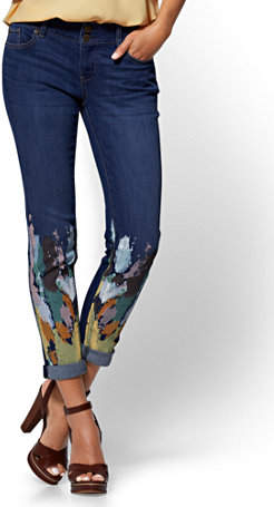 Denim Remix - A Unique Spin on Jeans www.toyastales.blogspot.com #ToyasTales #denim #jeans #fashion #fashionblogger