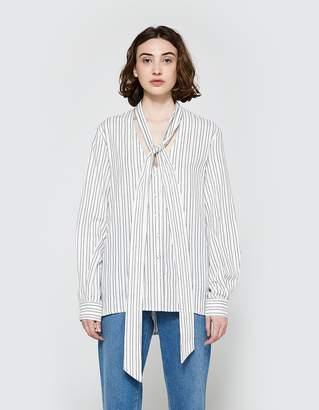 Matin Classic Shirt w/ Scarf