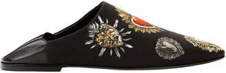 Dolce & Gabbana Sacred Heart Printed Slippers