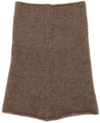 Isabel Benenato Wool & Yak Blend Knit Tube Scarf
