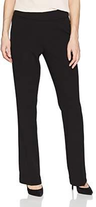 Kasper Women's Drapey Crepe Pull ON Pant