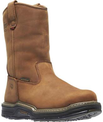 Wolverine Mens Marauder Waterproof Slip Resistant Insulated Work Boots Pull-on