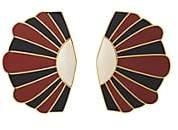 Monica Sordo Women's Mullu Earrings - Red