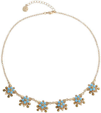 MONET JEWELRY Monet Jewelry Womens Blue Collar Necklace