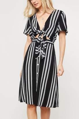 Lyn Maree's Sailor Stripe Knot Dress