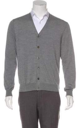 Barneys New York Barney's New York Merino Wool Cardigan