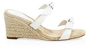 Alexandre Birman Women's Clarita Braided Espadrille Wedge Mules