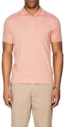 Fioroni Men's Cotton-Cashmere Polo Shirt
