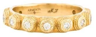 Armenta 18K Diamond Band
