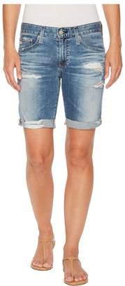AG Adriano Goldschmied Nikki Shorts in 16 Years Indigo Deluge Destructed Women's Shorts