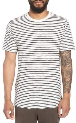 Vince Stripe Crewneck T-Shirt