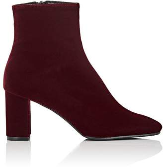Barneys New York Women's Velvet Ankle Boots