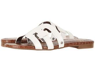 0ddc57b5d ... White Leather Women s Sandals. View Related Searches. at Zappos · Sam  Edelman Bay