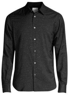 Paul Smith Lurex Slim Fit Button-Down Shirt
