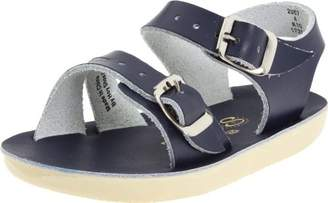 Salt Water Sandals Girls' Sun-San Sea Wee Flat Sandal