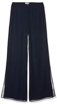 Gina Bacconi Women's Chiffon Layered Trouser,(Size:18)