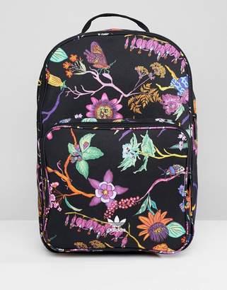 adidas Floral Print Backpack