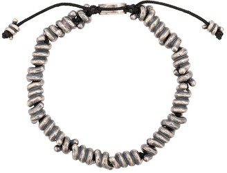 knotted coil bracelet