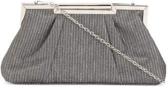 Glitter Lurex Metal Framed Evening Bag
