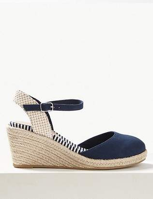 65659228e45 Marks and Spencer Wedge Heel Almond Toe Espadrilles