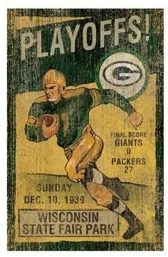 DAY Birger et Mikkelsen Imperial International NFL Vintage Advertisement NFL Team: Green Bay Packers