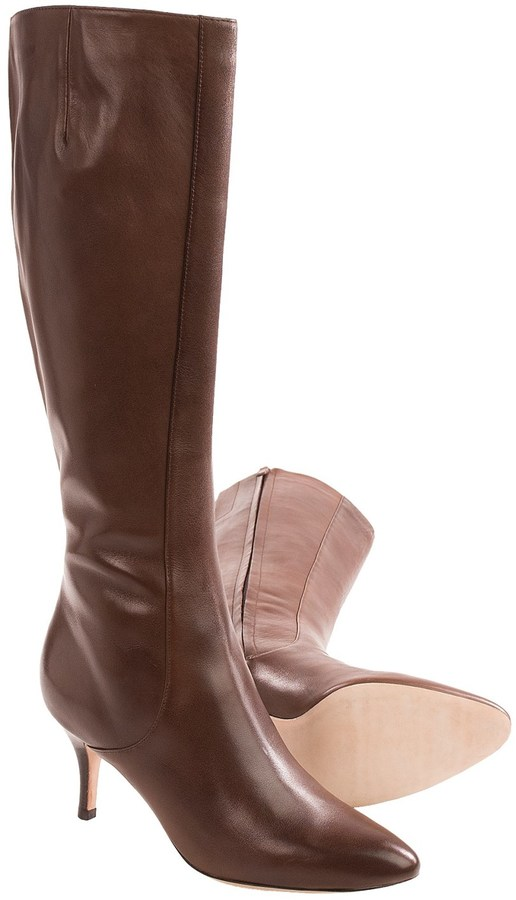 Cole Haan Cole Haan Carlyle Leather Dress Boots - Side Zip (For Women)