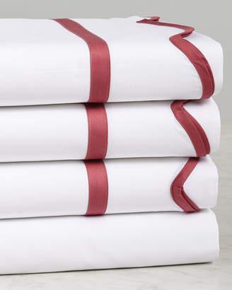 Dea Italian Linens Rose Scalloped Sheet Set