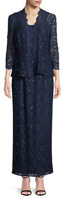 Alex Evenings Sequin Lace Jacket and Dress