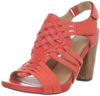 d73a2140d10 Clarks Red Platform Women s Sandals - ShopStyle