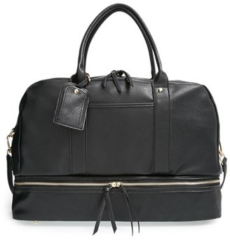 Sole Society 'Mason' Faux Leather Weekend Bag $79.95 thestylecure.com
