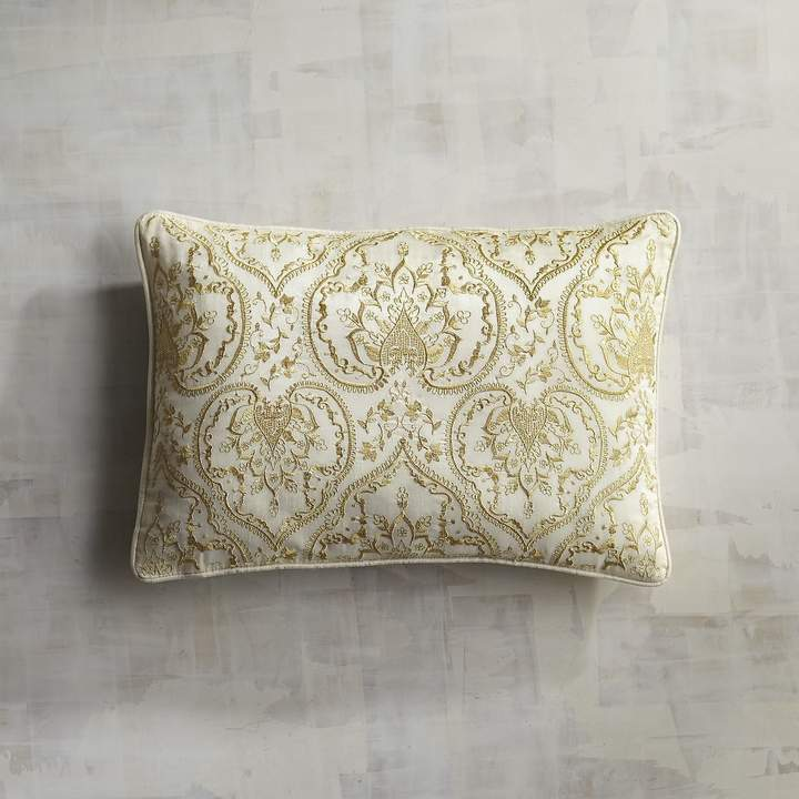 Arrendale Embroidered Decorative Lumbar Pillow